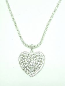 Crystal Heart Fashion Necklace